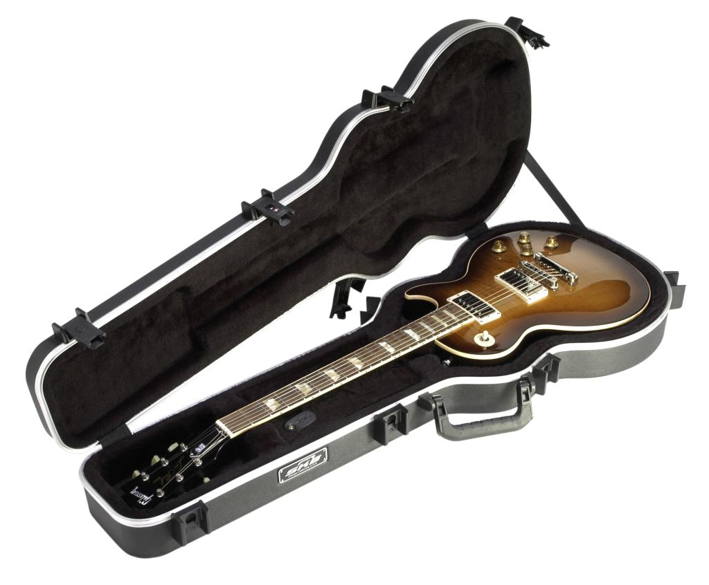skb skb 56 deluxe single cutaway electric guitar case musical instruments. Black Bedroom Furniture Sets. Home Design Ideas