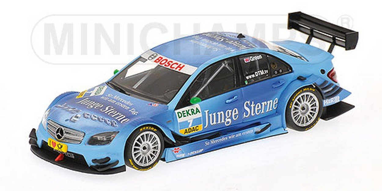 NEWES MINICHAMPS PM400093807 Mercedes C Class J.Green DTM 2009 1:43 MODELLINO Die Cast