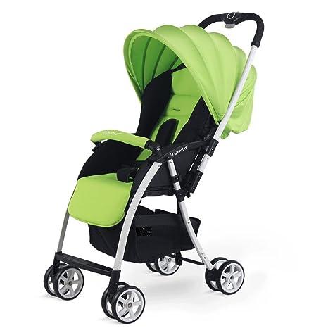 HJHY Carritos de bebé ligero Carrito de niño Carritos de bebé puede mentir abajo puede sentarse