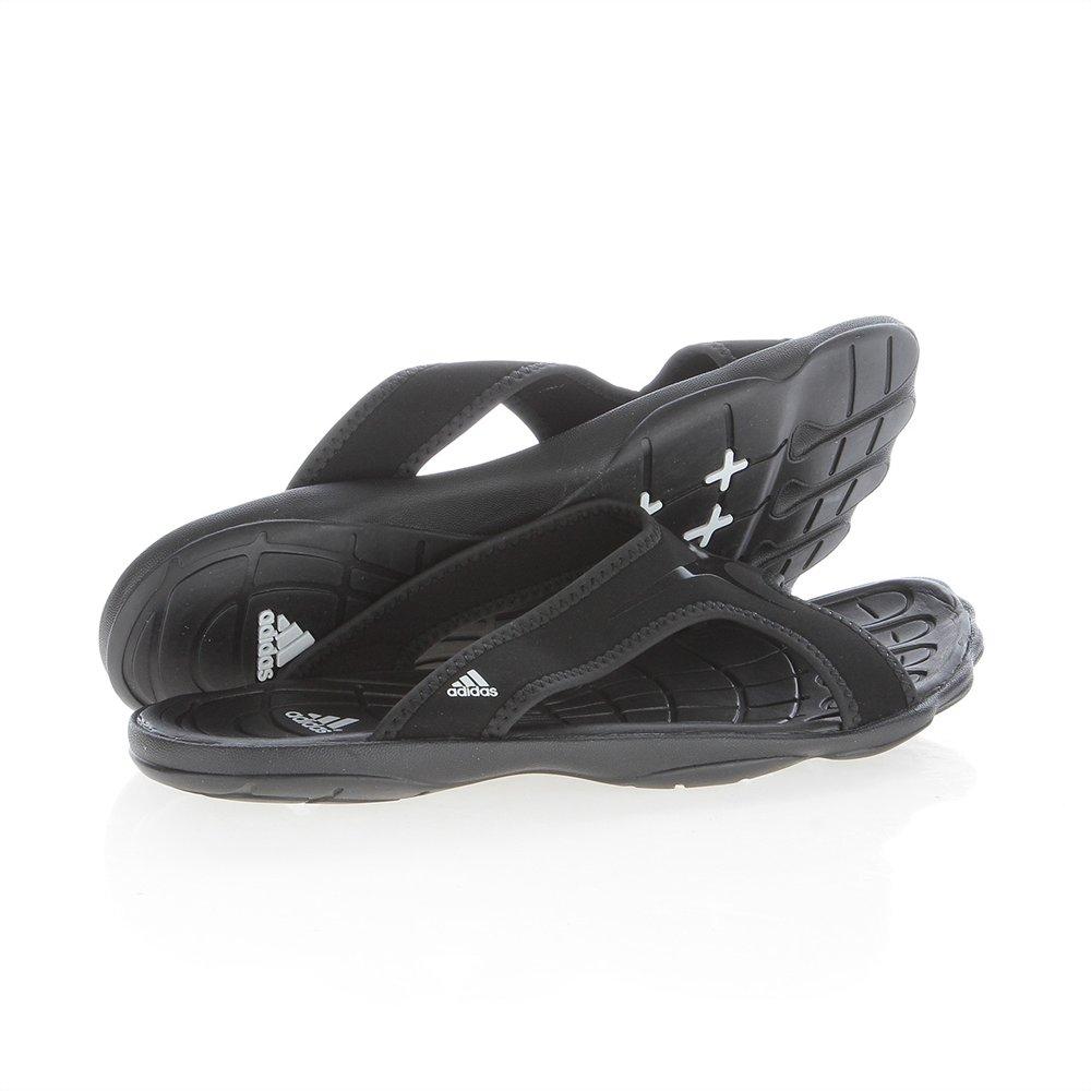 eca0f11bcf4cb adidas - Sandals   Flip Flops - Men s Adipure Slides - Black - 9   Amazon.co.uk  Shoes   Bags