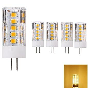 12 V Bombillas LED G4 bombilla LED blanco cálido Iluminación LED 300 – 320 lúmenes,