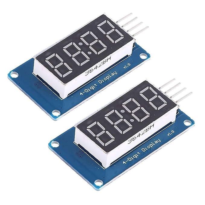 7 Segment Numeric LED Display Yellow Common Anode Right Hand Decimal NEW 10//PKG