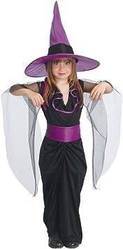 NET TOYS Disfraz Bruja niños Traje Infantil hechicera Malvada S ...