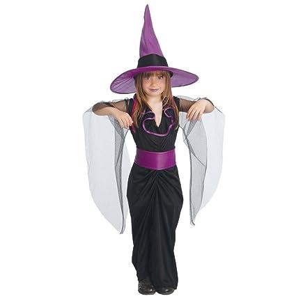 NET TOYS Disfraz Bruja niños Traje Infantil hechicera ...
