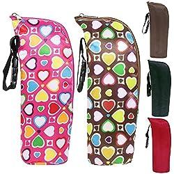 OKOKMALL US--Portable Travel Baby Kid Feeding Milk Bottle Warmer Storage Holder Carrier Bag C
