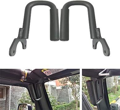 Sxma Front Grab Griffe Griff Griff Haltegriff Für 1997 2006 Jeep Wrangler Tj Unbegrenzt T007 Auto