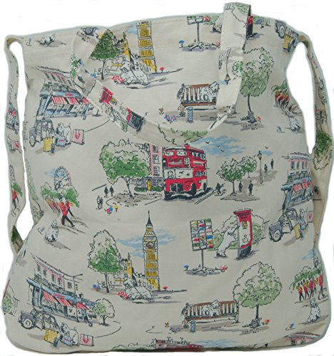 Design Go Cath Canvas Double 'Billie Town' to Bag Kidston Handle qgRqwzp