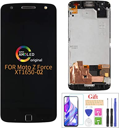Compatible con Moto Z Force XT1650-02 LCD Display Screen ...
