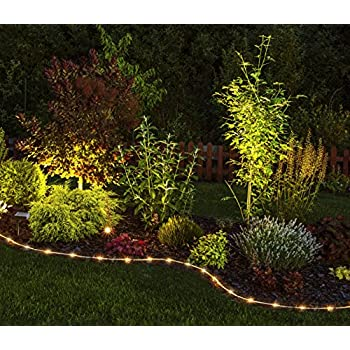 Moonrays 91151 Solar Powered Edge Lighting Clear