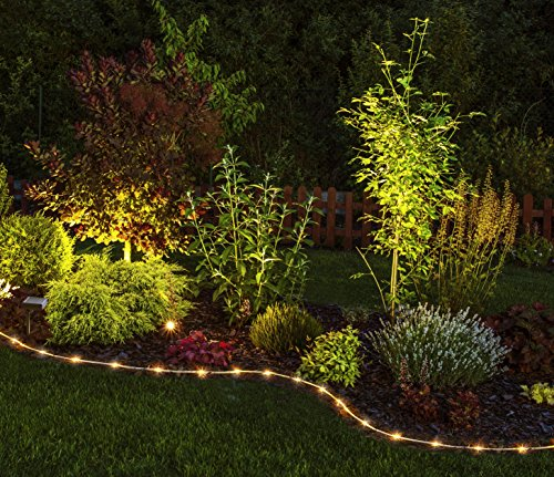 Moonrays 91151 Solar Powered Edge Lighting, Clear