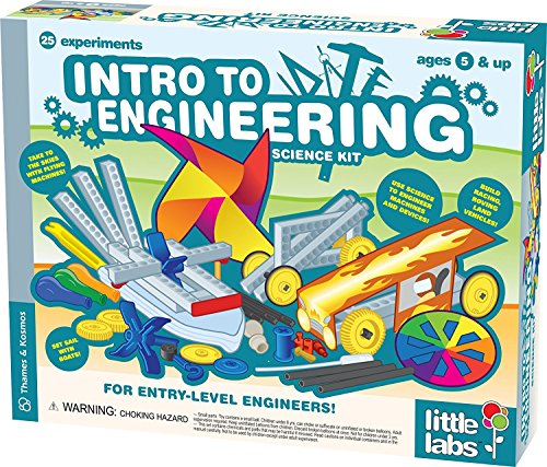 - Thames and Kosmos Little Labs Intro to Engineering