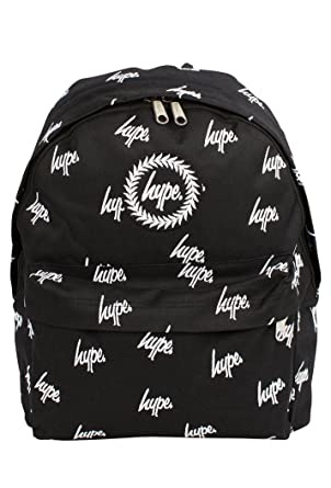244bdae53287 Hype All Over Embroidery Logo Backpack Rucksack Bag