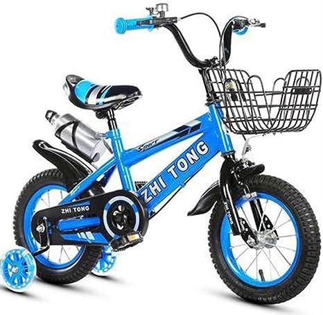 HJTLK Bicicleta de Bicicleta para niños y niñas para niños de 3 a ...
