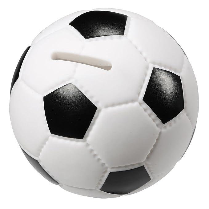 elasto form - Hucha con forma de balón de fútbol (9,5 cm de ...