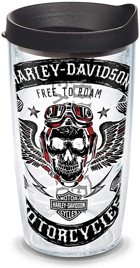 Harley-Davidson Aviator - Vaso con tapa cerrable, diseño de ...