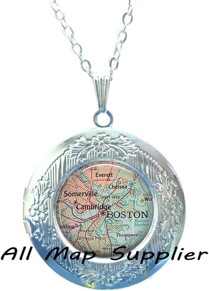 Boston Bracelets Boston Bracelet Boston map Bracelet map jewelry,A0057 Charming Bracelet Boston map Bracelets