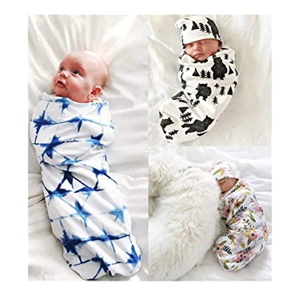 Amazon.com  Newborn Baby Swaddle Blanket 68afd8113