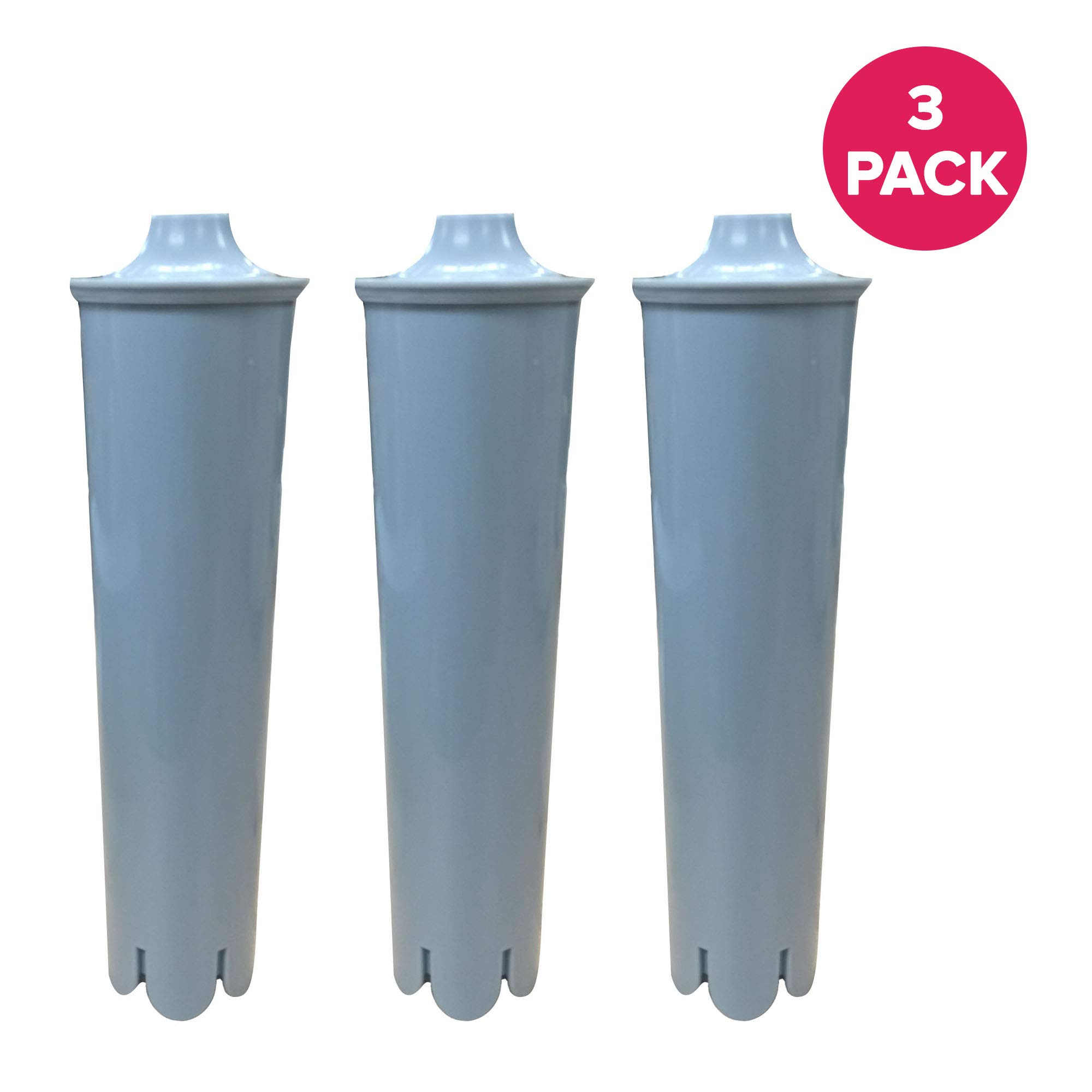 Think Crucial Replacement for Jura Clearyl Blue Water Filter, Fits Coffee Machines ENA3, ENA4, ENA5, J6, J9, J95, Compatible With Part # 67879 (3 Pack)