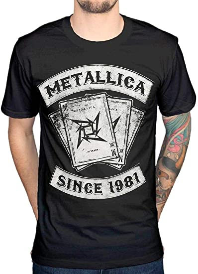 Oficial Metallica Dealer Since 1981 T-Shirt: Amazon.es: Ropa y accesorios