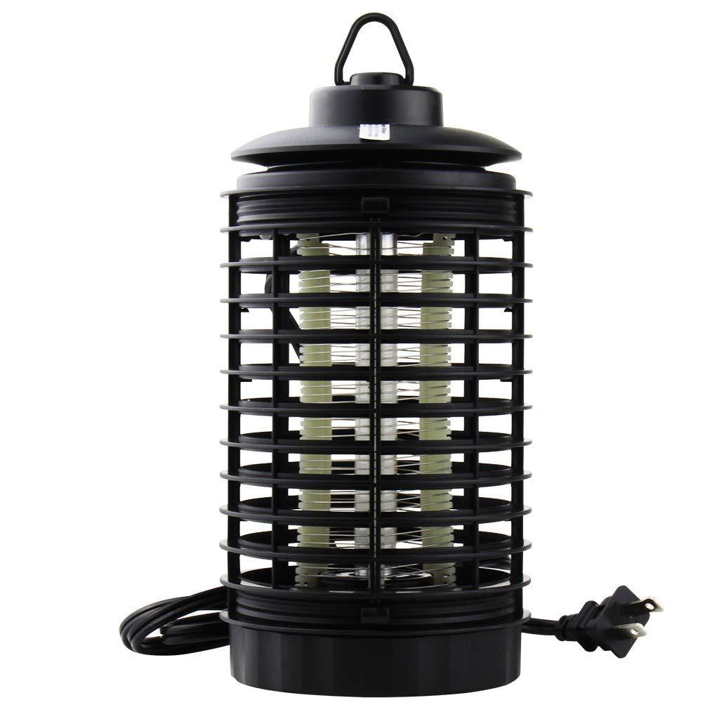 YUHUISTART Moskito Falle M/örder Lampe Elektronischer Insektenvernichter Insektenmoskito Wasserdichte Insektenfalle Abweisend Anti-Moskito f/ür Innen und Au/ßen