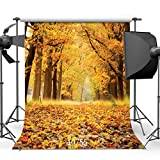 SJOLOON 10x10ft Autumn Backdrop Beautiful Natural Scenic Photography Background Wedding Newborn Children Backdrop 10755