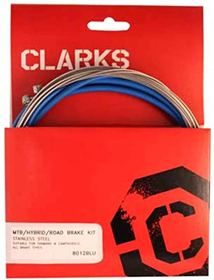 Clarks Stainless Steel Sport Gear Kit Cable Gear Clk Kit F+r Ss Spt Rd//mt Red