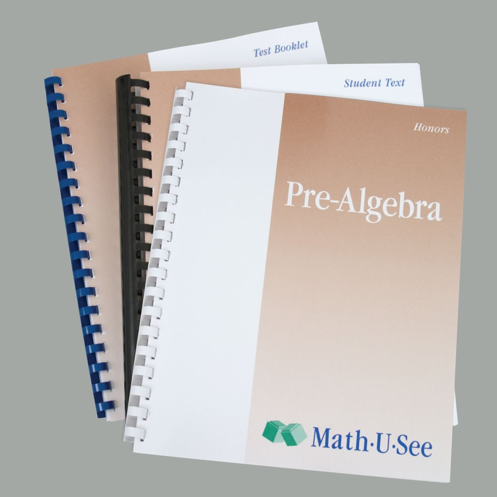 Math-U-See Pre-Algebra Student Pack (UK Edition): Amazon.co.uk ...