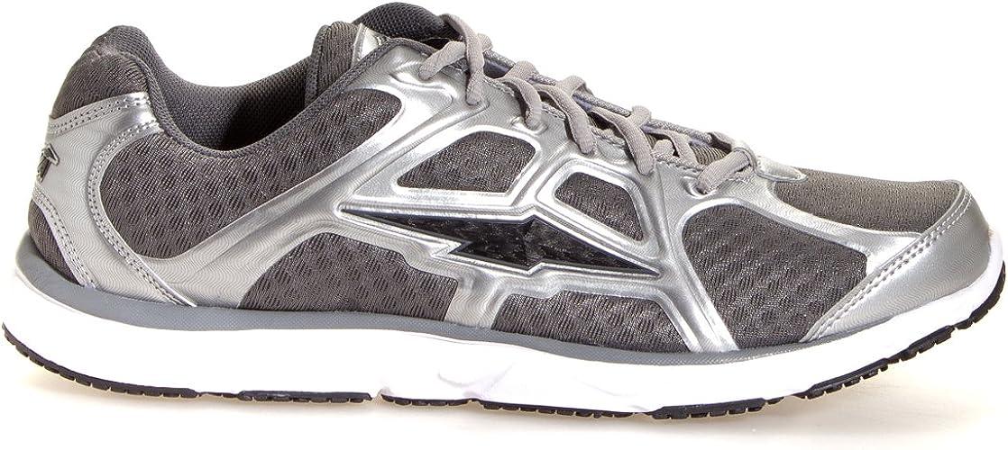 AVIA AVI-Vector Zapatillas para Correr para Hombre, Plateado (Cromo Plateado/Gris Ceniza/Negro.), 43 EU: Amazon.es: Zapatos y complementos