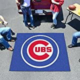"Fan Mats 6469 MLB - Chicago Cubs 60"" x 72"" Tailgater Mat / Area Rug"