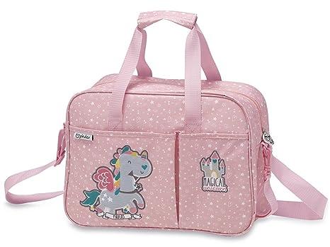 Pirulos 48813219 - Pack de 4 piezas, diseño unicornio, color blanco y fresa,