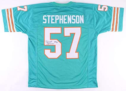 db76392b2 Dwight Stephenson Autographed Signed Miami Dolphins Jersey Inscribed .