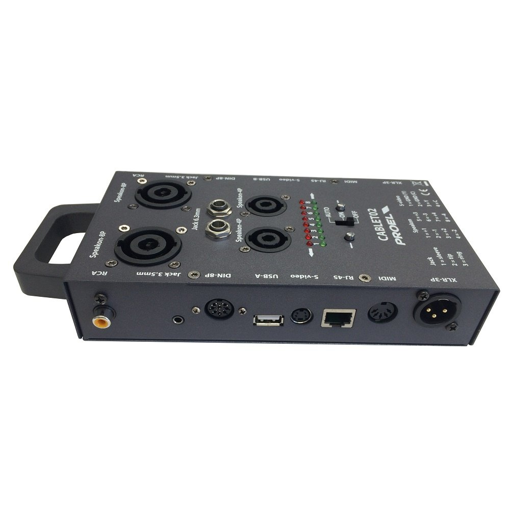 Proel PC02 cable tester for audio and video cables and connectors