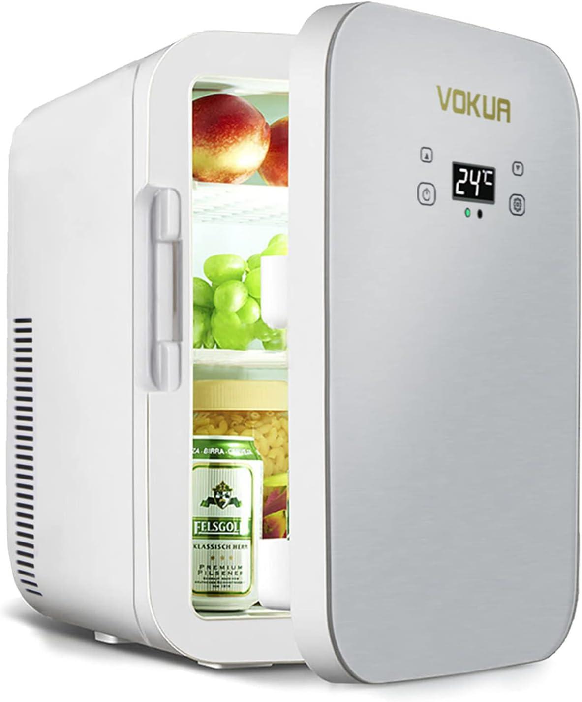 VOKUA 10 Liter Portable Mini Refrigerator