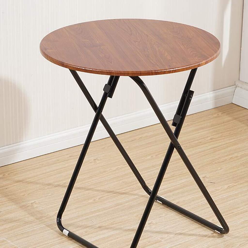 LYLLYL Tavolo Pieghevole da Tavolo Letto Pieghevole Tavolo da Lavoro Pigro dormitorio tavolino Multi-Dimensione Opzionale Tavolo Pieghevole (colore   C, Dimensioni   80×70cm)
