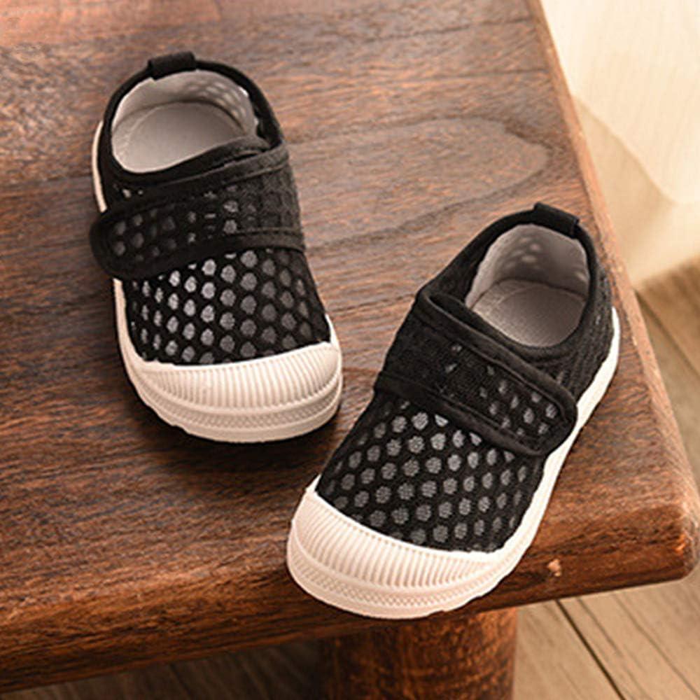 RVROVIC Kids Slip-on Breathable Mesh Sneakers Summer Beach Water Shoes Toddler//Little Kid