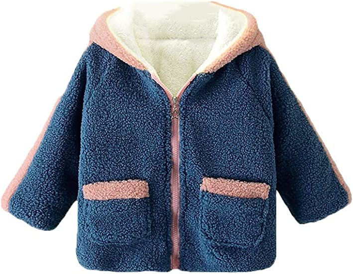 top brands outlet store sale various colors Amazon.com: Mallimoda Girls' Fleece Jacket Hooded Winter Coats ...