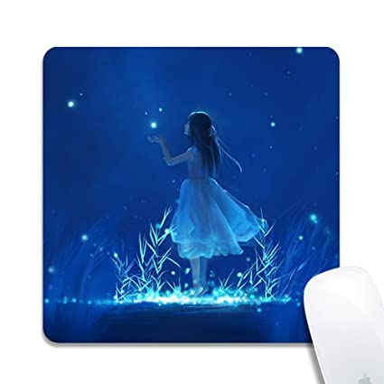 Amazoncom Rinda Customized Square Mouse Pad Mouse Pad Girl