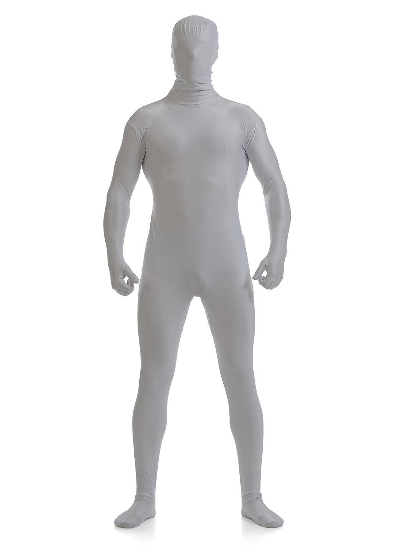 Ensnovo Mens Full Body Tights Suit Costumes Lycra Spandex Zentai Bodysuit
