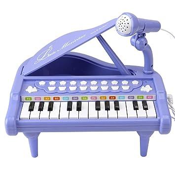 Amazon.com: Piano de juguete para bebé con teclado de piano ...