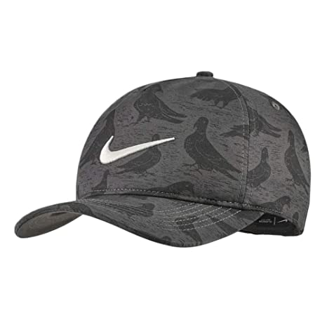 68784a16 Nike AeroBill Classic99 PGA-Print Golf Cap 2019 Anthracite/Sail One Size  Fits All