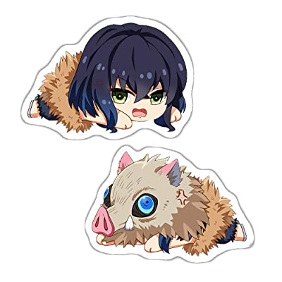 futurecos Demon Slayer Pig Inosuke Plushies Cute Figure Throw Pillow Kimetsu no Yaiba Hashibira Inosuke Stuffed Characters Plush Toys Back Cushions Decorations Bedroom: Home & Kitchen