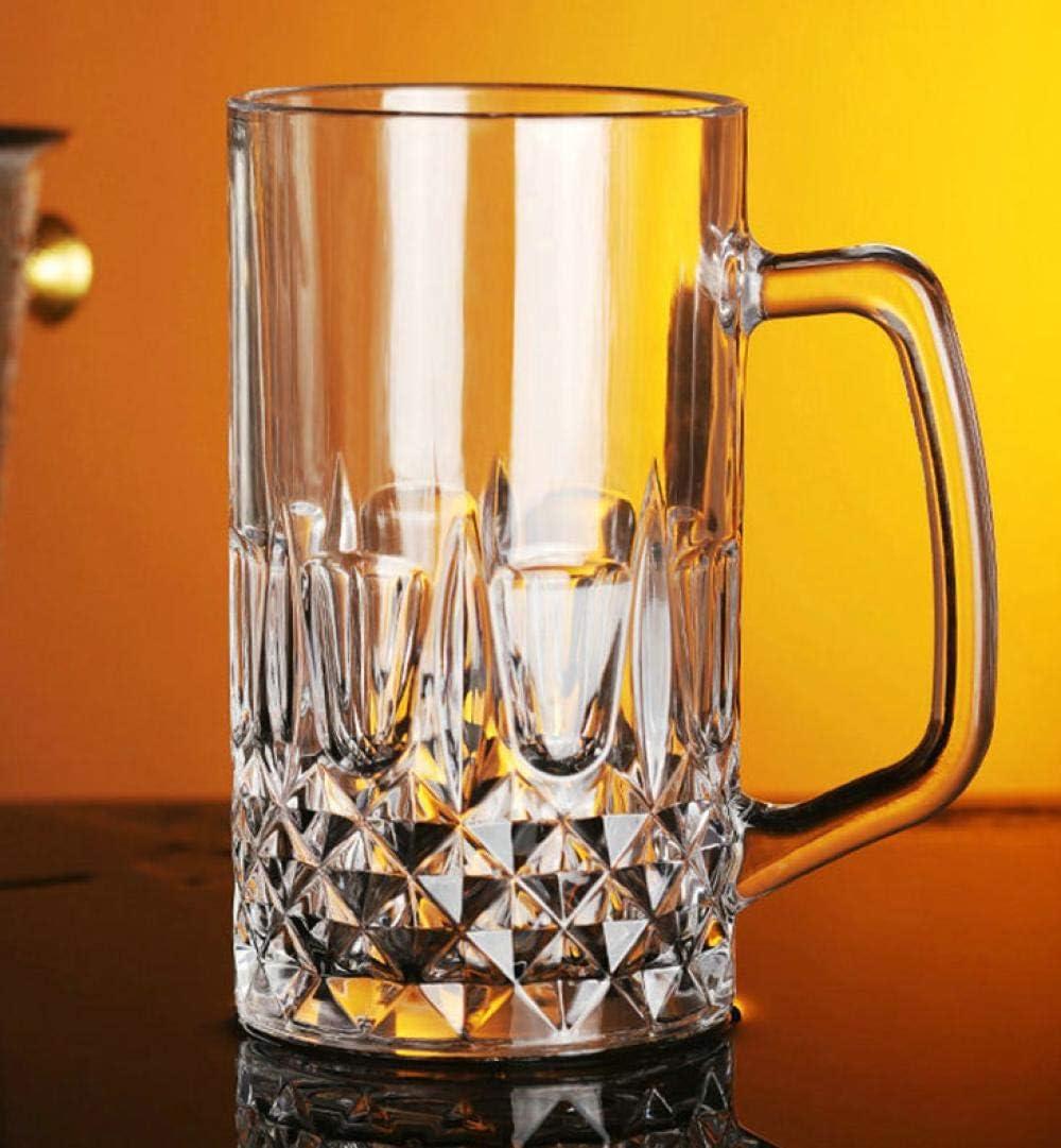 Jarras De Cerveza Vasos De Cerveza Cerveza, Cerveza, Leche, Bebida Fría, Vino, Cocina, Mango, Té De Cristal, 1L,Jarra De Cerveza