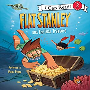 Flat Stanley and the Lost Treasure Audiobook