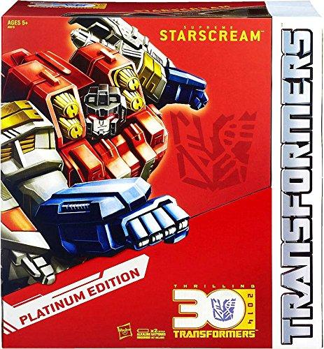 Hasbro Transformers Exclusive Platinum Edition Action Figure Supreme Starscream