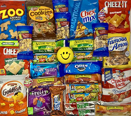 Ultimate Snack Pack Care Package Cookies, Chips & Candies ...