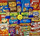 Care Package Ultimate Snack pack Grab and Go Cookies, Chips & Candies Bundle Variety Snacks for College students, Office, Military, Gift Variety Assortment for everyone