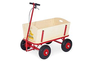 Pinolino 239054 Til - Carro para niños (madera, 95 x 60 x 58 cm, carga máxima 80 kg): Til Pinolino 239054 - Bollerwagen: Amazon.es: Juguetes y juegos