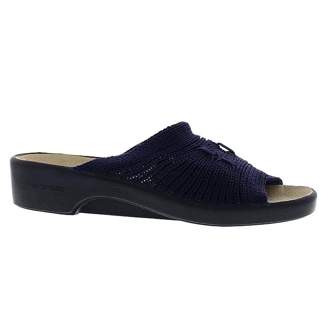 Arcopedico Splash, Damen Peep Toes , Blau - Dunkelblau - Größe: 42.5