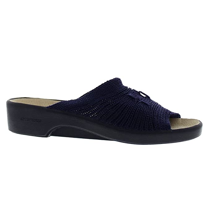 Arcopedico Splash, Damen Peep Toes, Schwarz - Schwarz - Größe: 38.5
