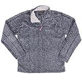 True Grit Men's Frosty Cord Pile 1/4 Zip Pullover, Vintage Black, XX-Large